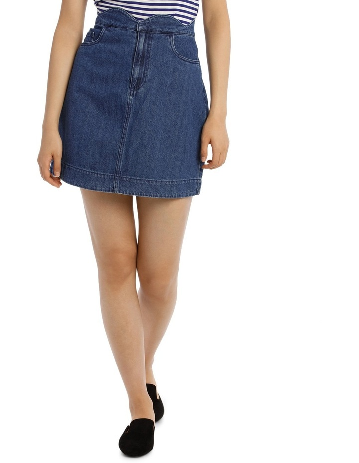Lisa Scallop Short A-Skirt image 1