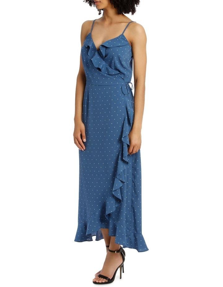 HANNA SINGLET WRAP MAXI DRESS image 2