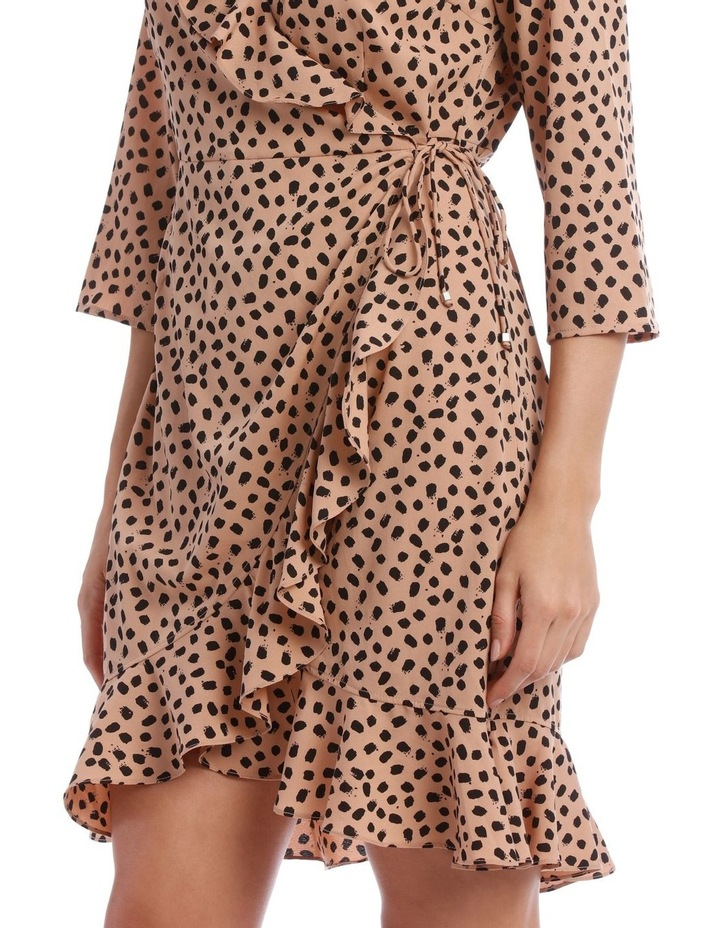 Henna Wrap Dress image 4