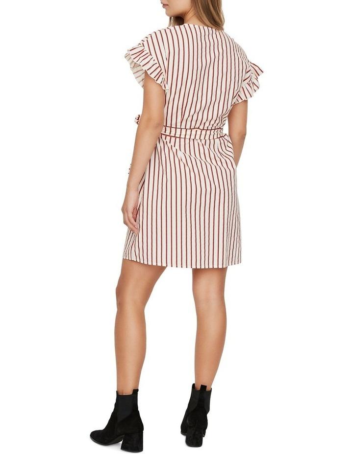 Olympia Striped Wrap Dress image 2