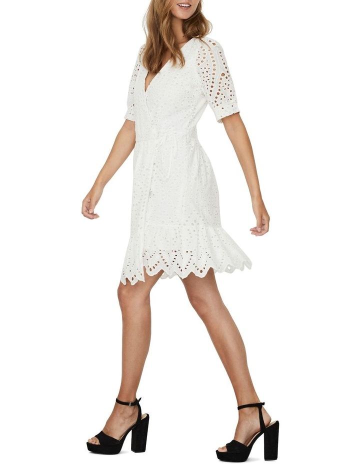Therese Short Wrap Dress image 3