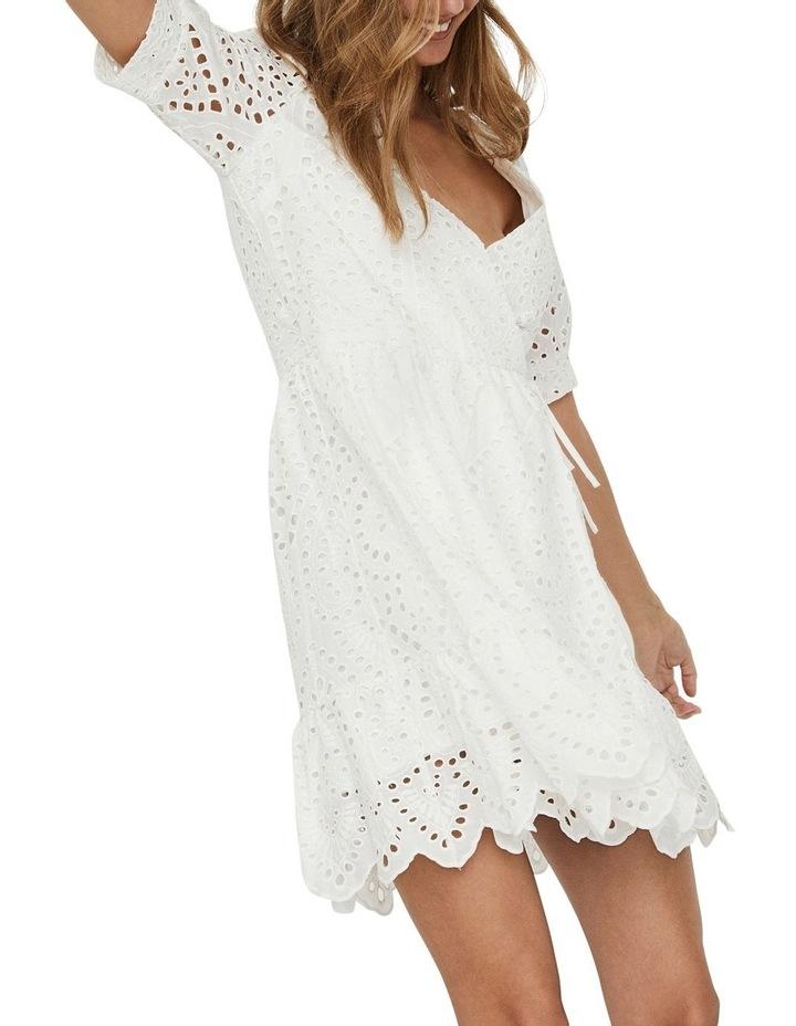 Therese Short Wrap Dress image 4