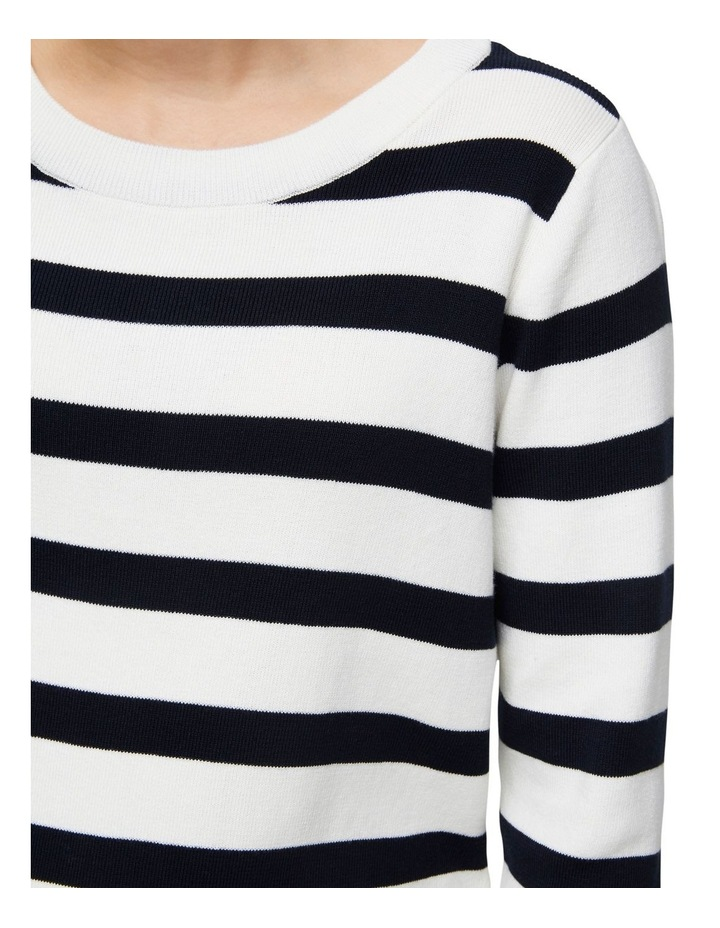 Alina Stripe Long Sleeve Knit image 4