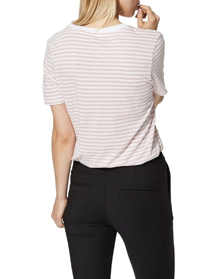 My Perfect Short Sleeve Stripe Tee image 2