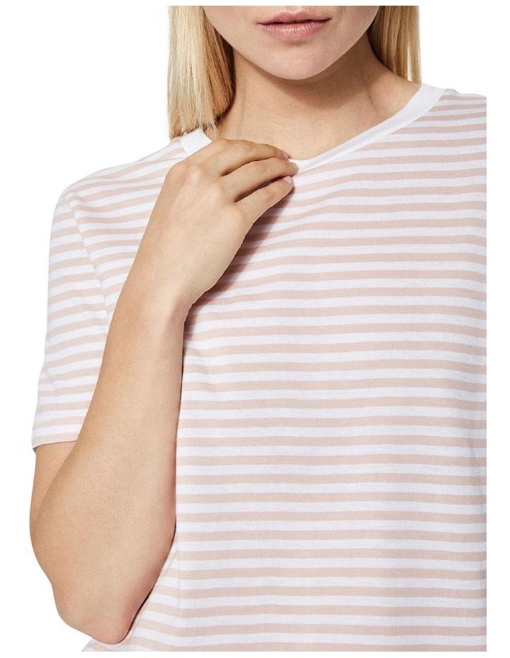 My Perfect Short Sleeve Stripe Tee image 3