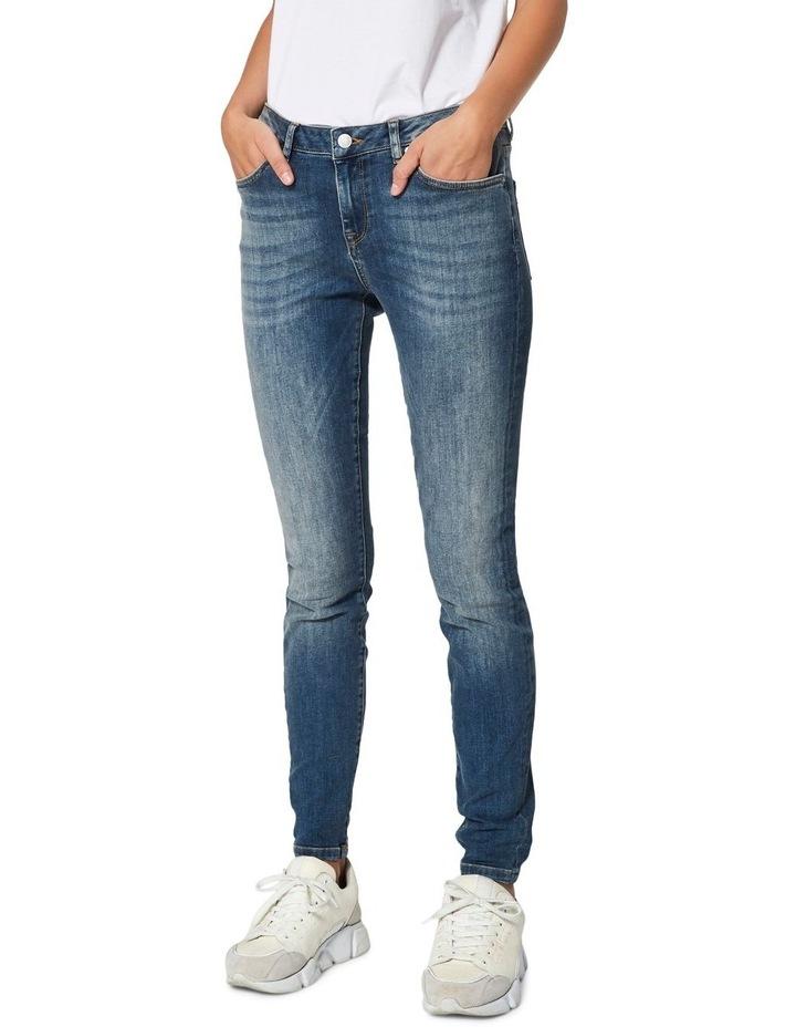 Ida Mid Waist Skinny Jeans image 1