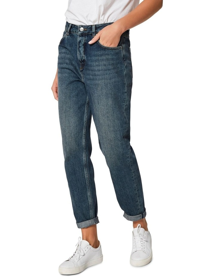 Frida High Rise Mom Jeans image 1
