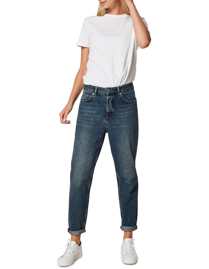 Frida High Rise Mom Jeans image 3
