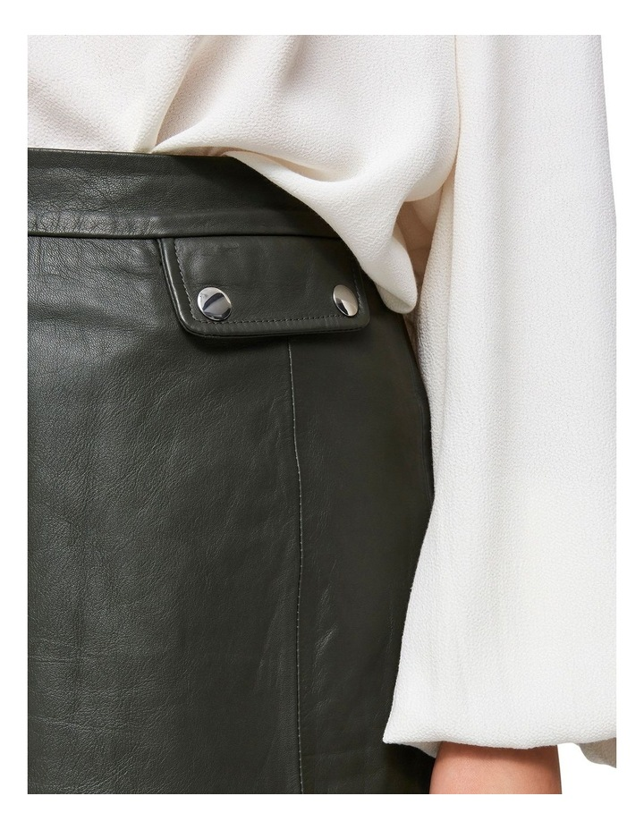 Mina Leather Skirt image 3