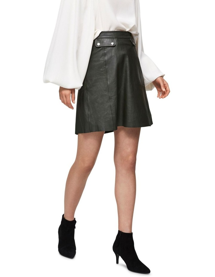 Mina Leather Skirt image 4