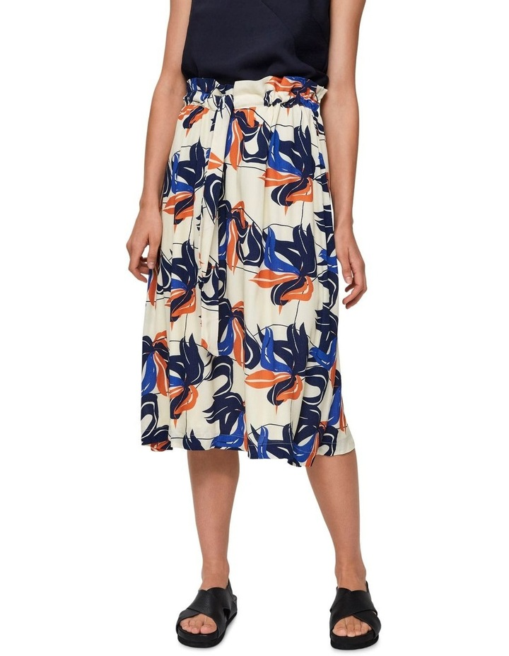 High Waisted Floral Skirt image 1