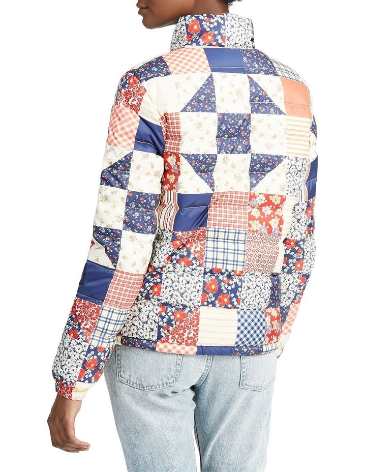 Patchwork Quilted Down Jacket image 2