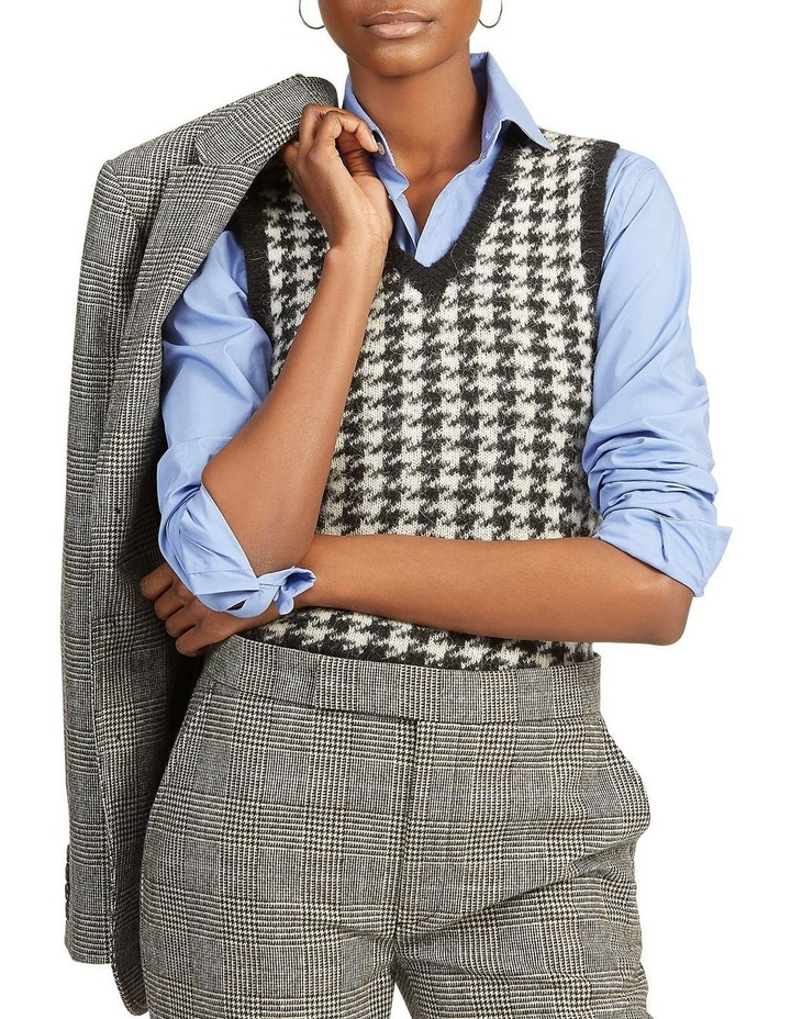 Wool-Blend Sweater Vest image 1