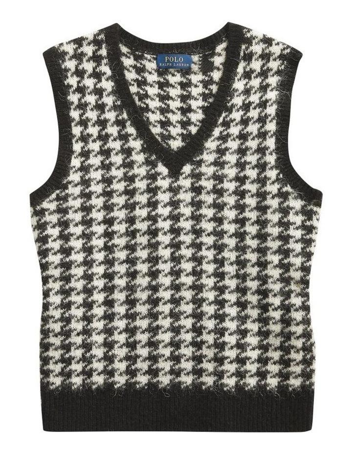 Wool-Blend Sweater Vest image 4