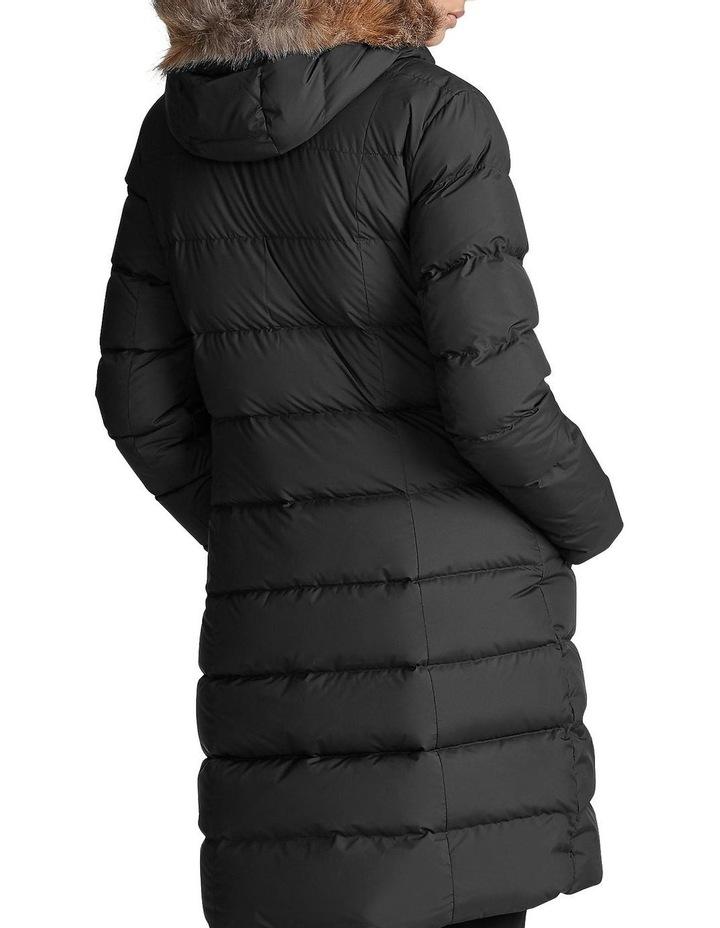 Faux-Fur-Trim Down Coat image 2