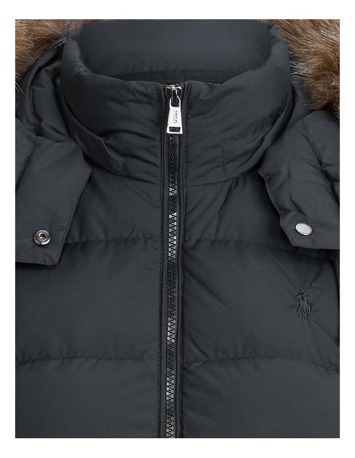 Faux-Fur-Trim Down Coat image 5