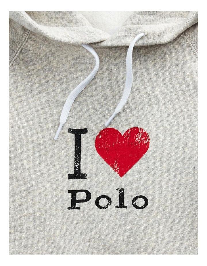 Polo Graphic Fleece Hoodie image 5
