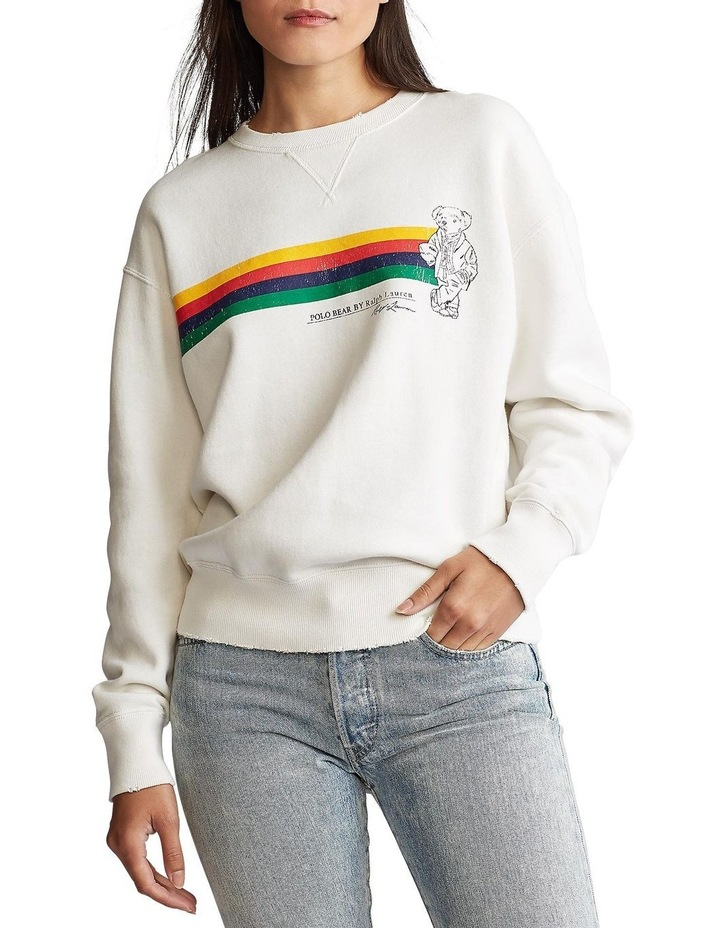 Polo Bear Fleece Pullover image 1