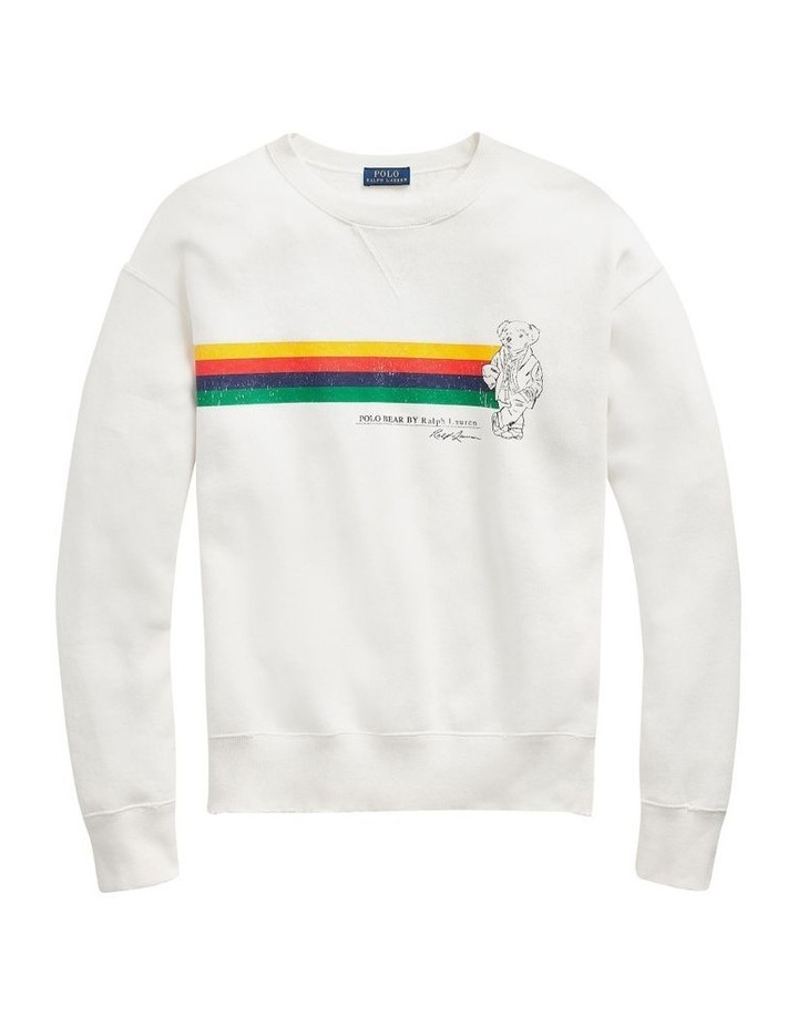 Polo Bear Fleece Pullover image 4
