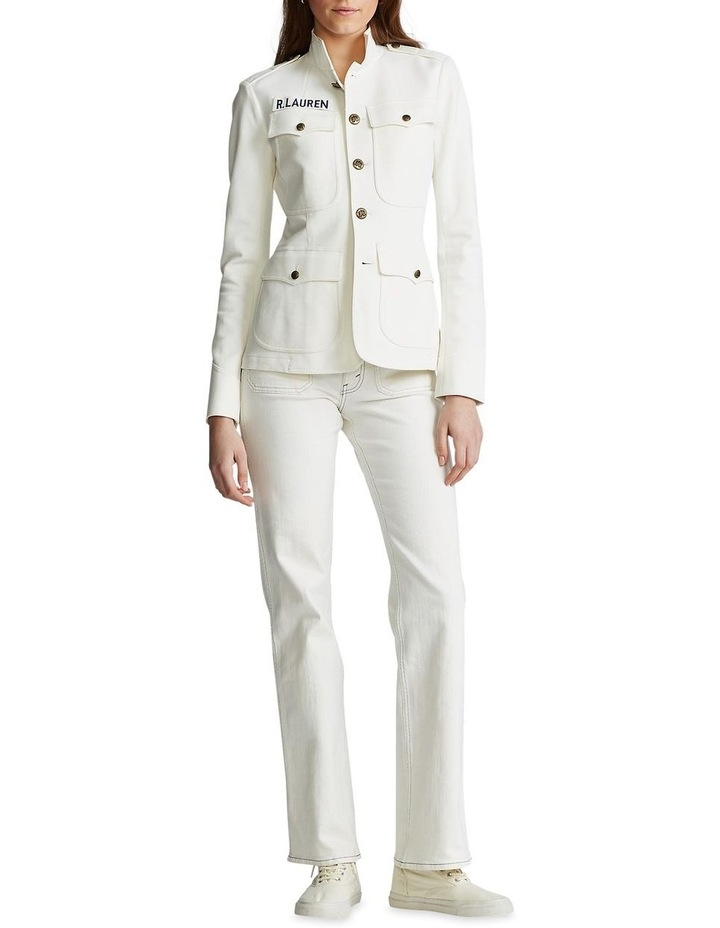 Cotton Stretch Blazer image 3