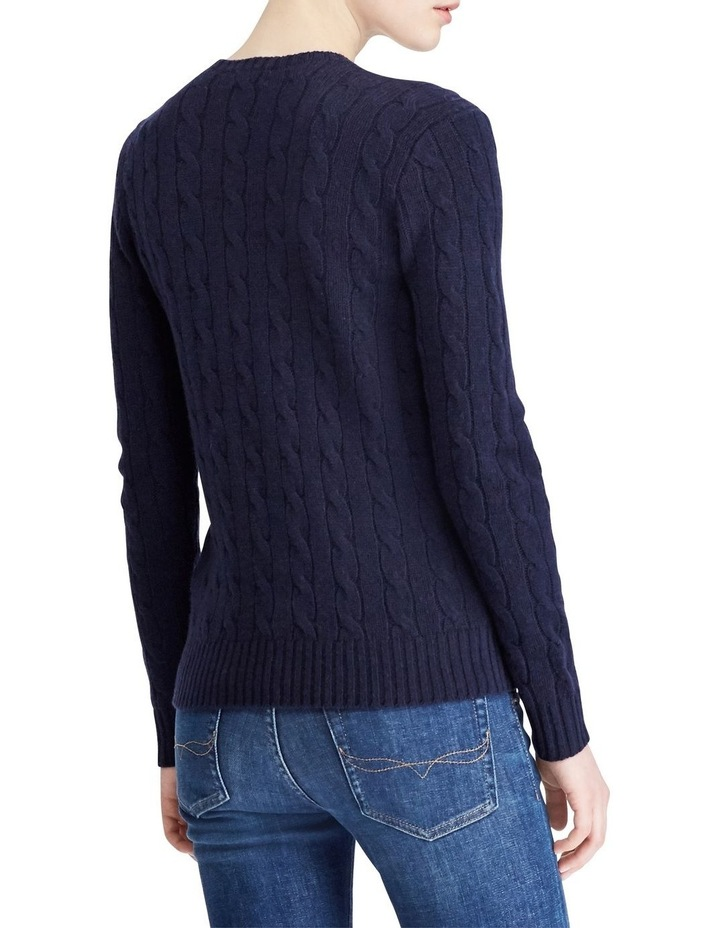 Cable Wool Crewneck Sweater image 2