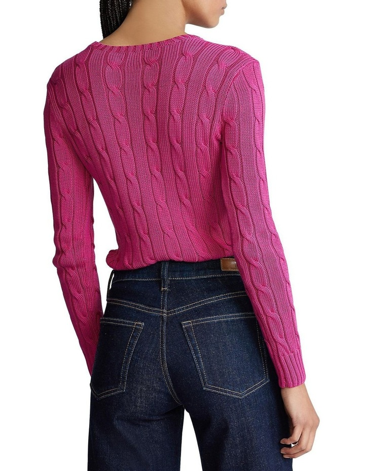 Cable-Knit Cotton Sweater image 2