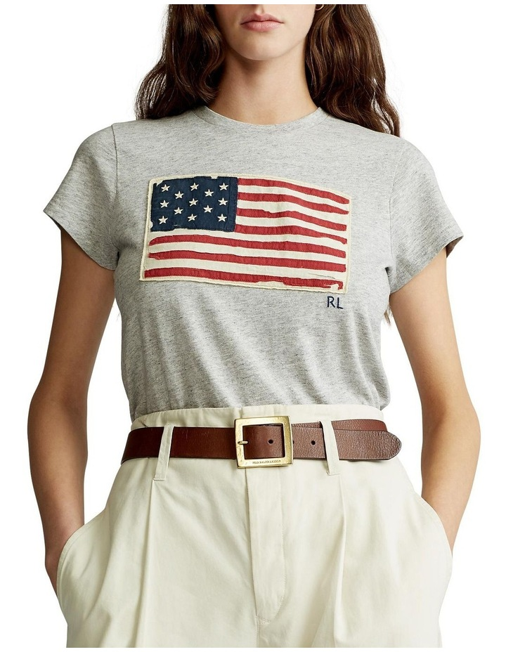 Flag Jersey Graphic T-Shirt image 1