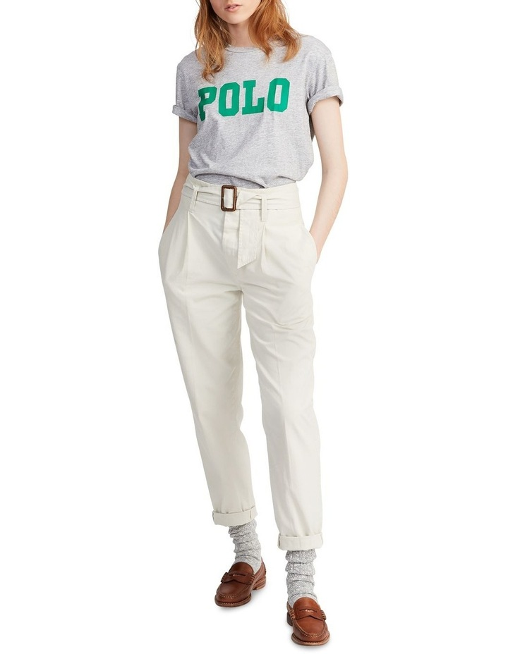 Big Fit Polo Cotton Tee image 3
