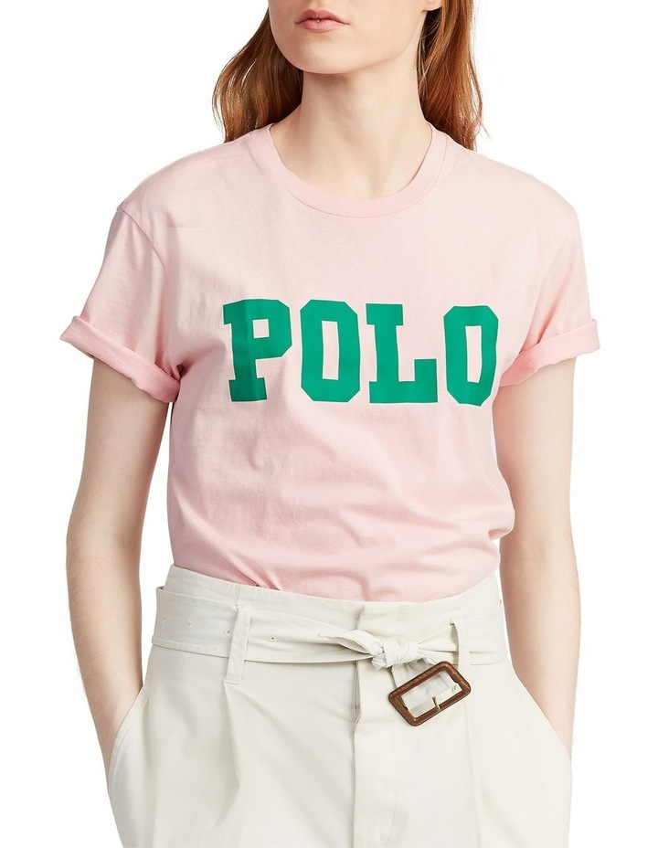 Big Fit Polo Cotton Tee image 1