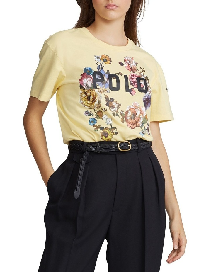 Polo Floral Jersey Tee image 1