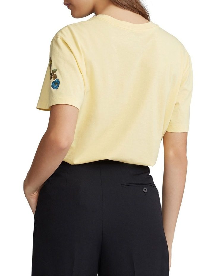 Polo Floral Jersey Tee image 2