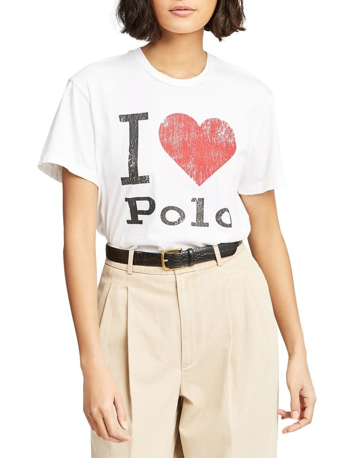 Polo Jersey Graphic Tee image 1