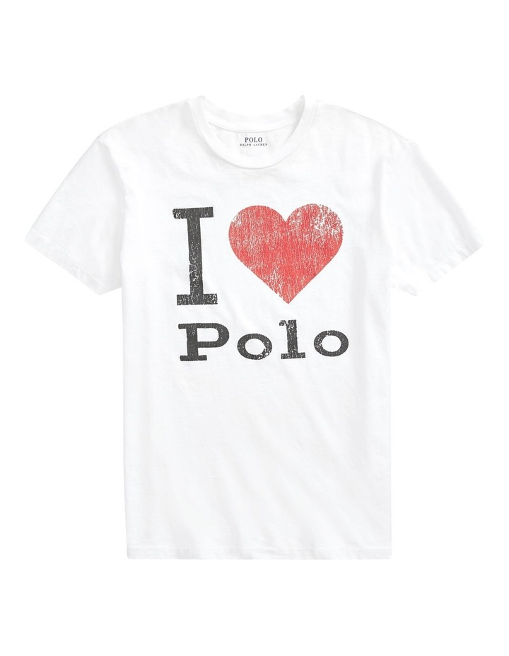 Polo Jersey Graphic Tee image 4