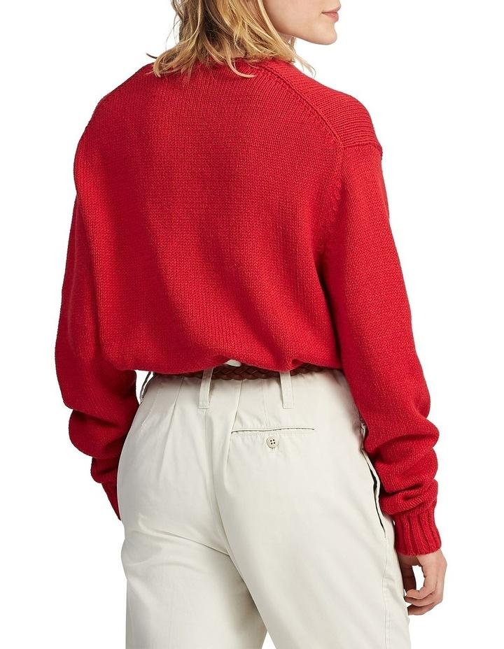 Polo Bear Cotton-Linen Sweater image 2