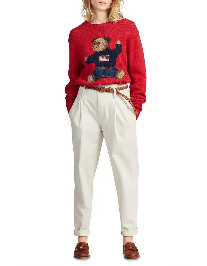 Polo Bear Cotton-Linen Sweater image 3
