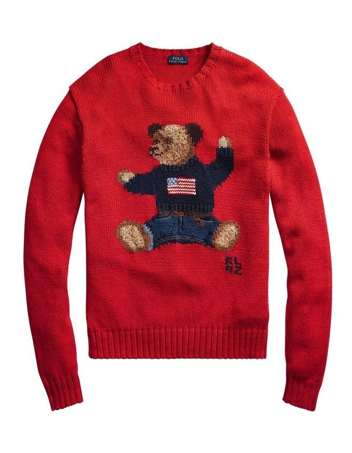 Polo Bear Cotton-Linen Sweater image 4