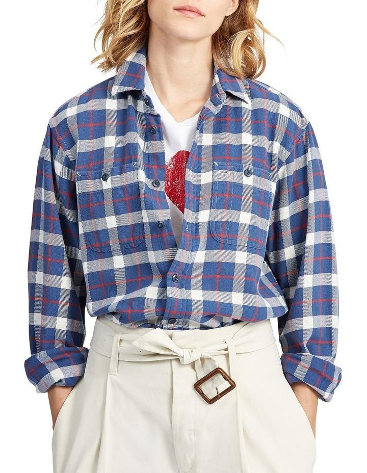 Big Fit Plaid Cotton Shirt image 1