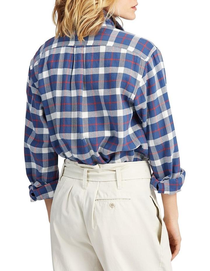 Big Fit Plaid Cotton Shirt image 2