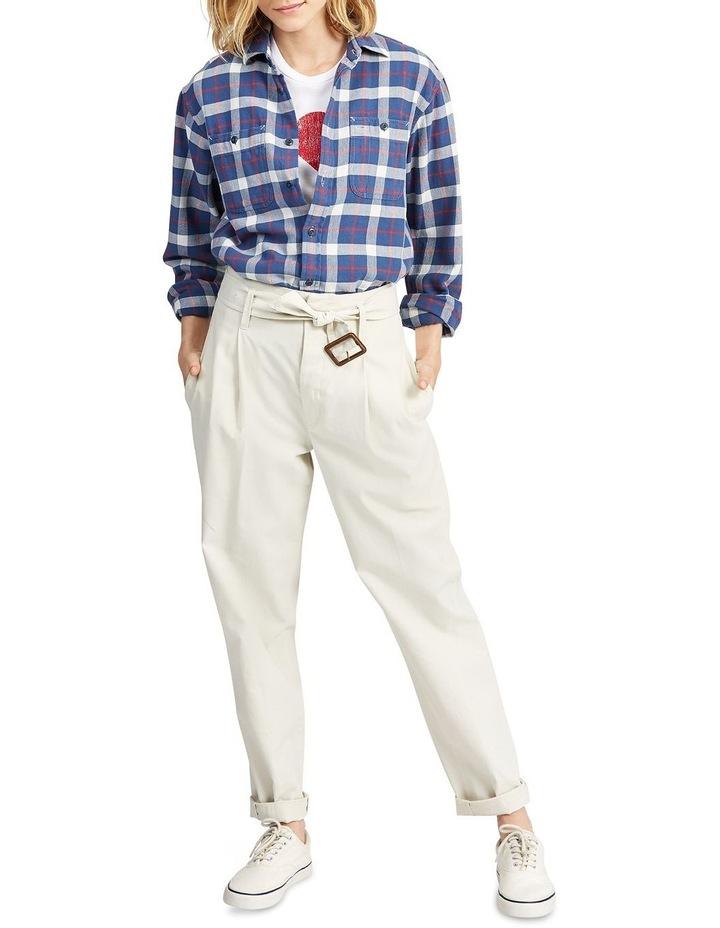 Big Fit Plaid Cotton Shirt image 3