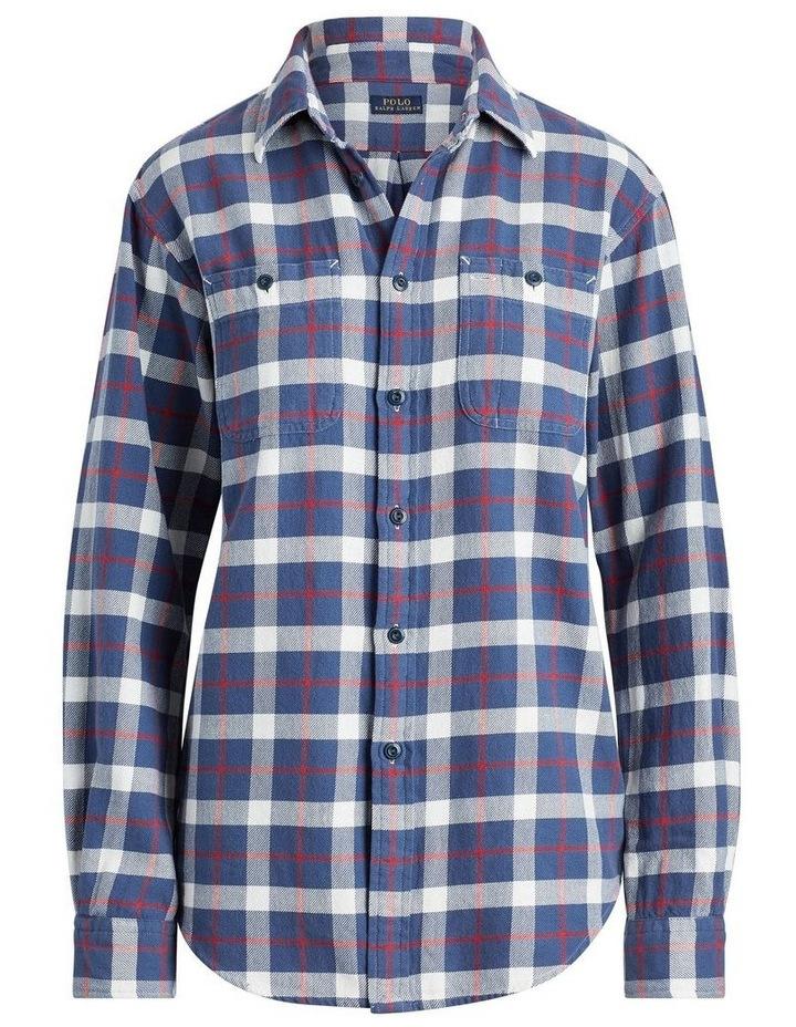 Big Fit Plaid Cotton Shirt image 4