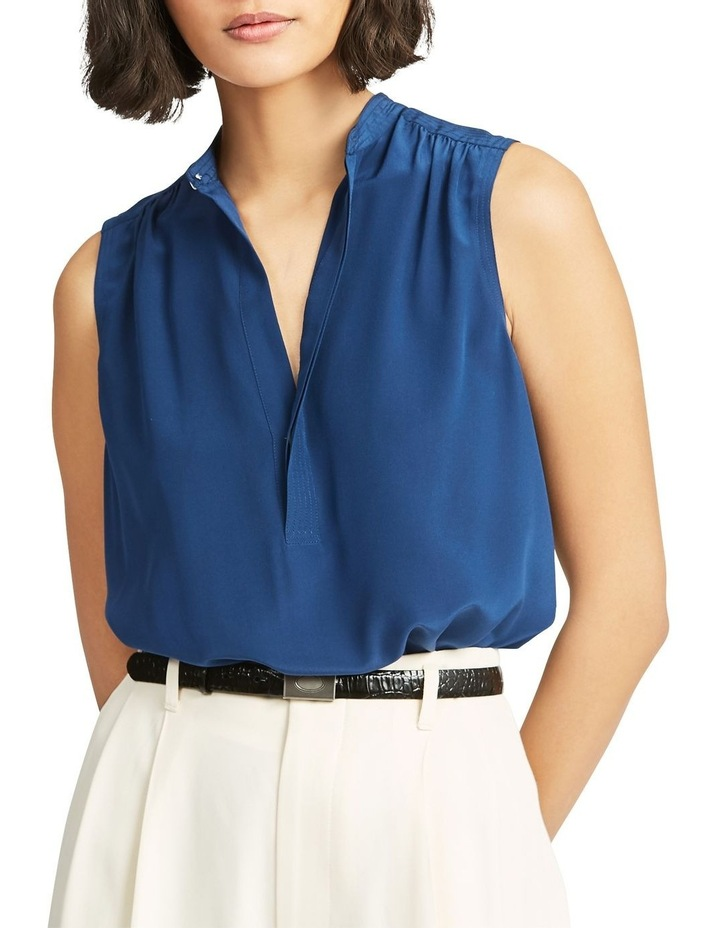 Sleeveless Silk Shirt image 1