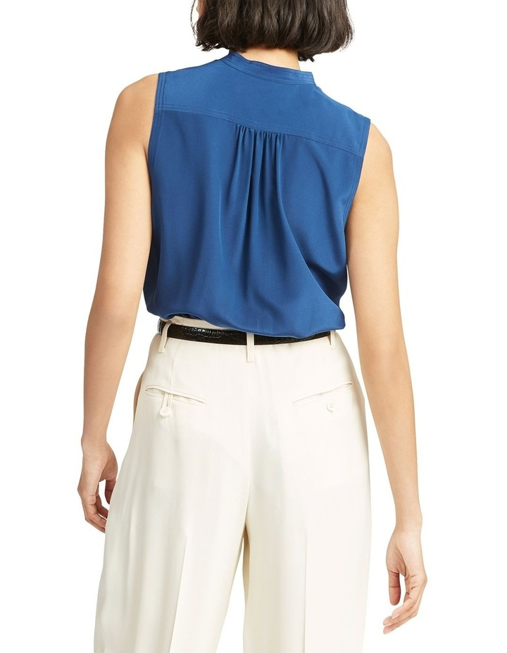 Sleeveless Silk Shirt image 2