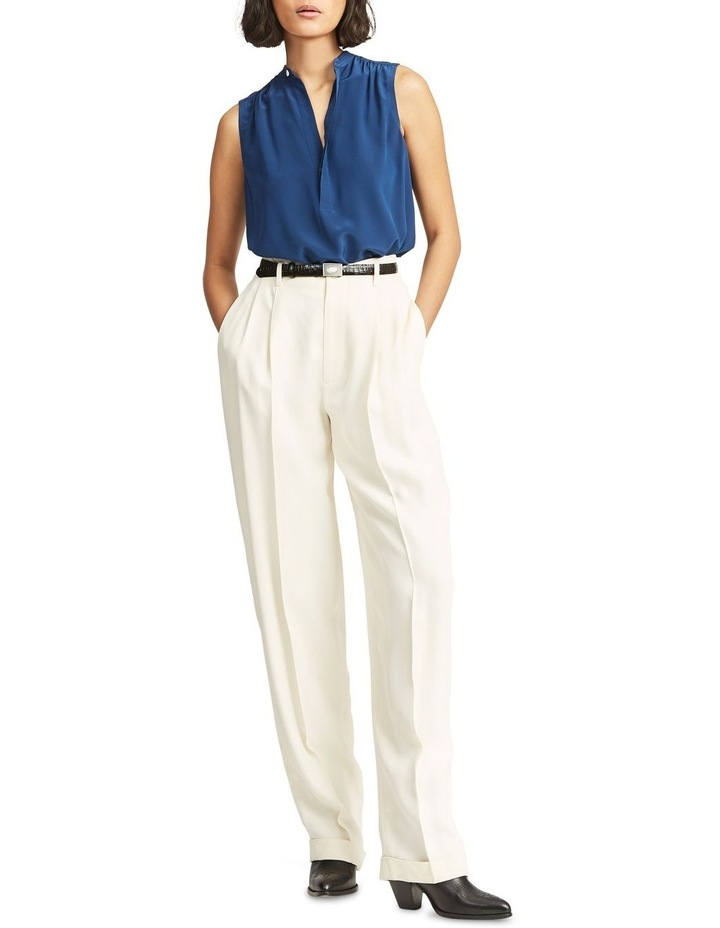 Sleeveless Silk Shirt image 3