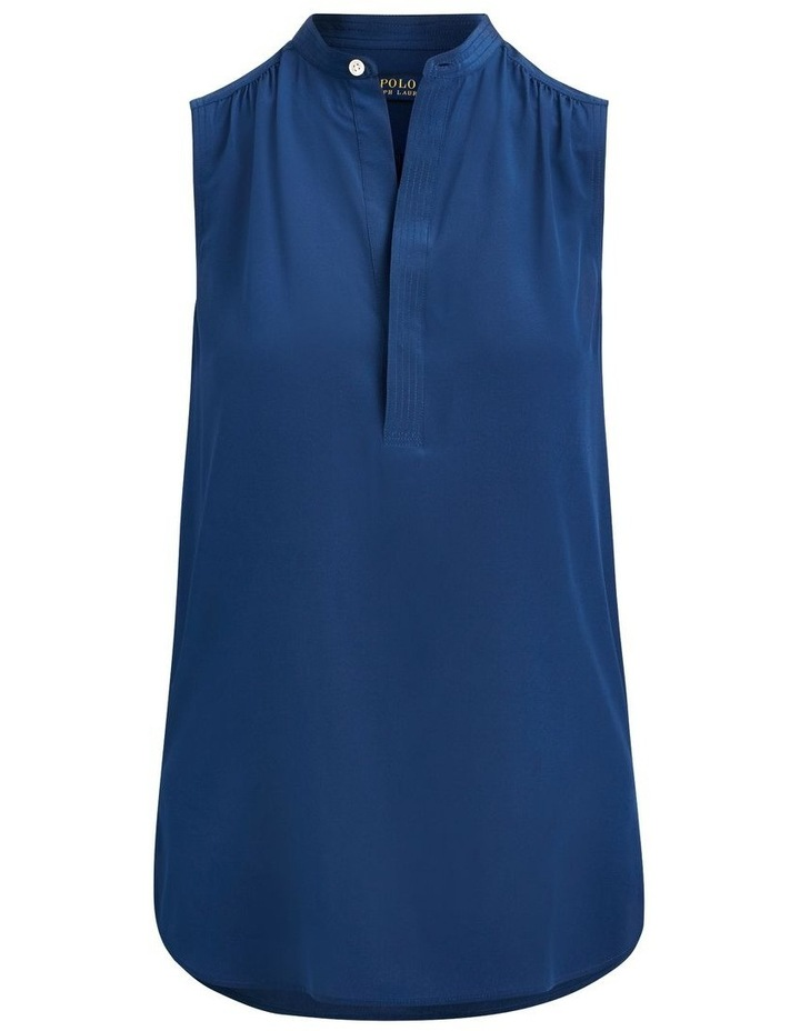 Sleeveless Silk Shirt image 4