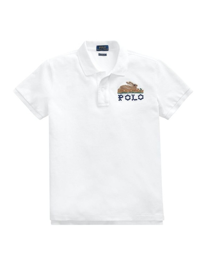 Classic Fit Embroidered Polo image 4