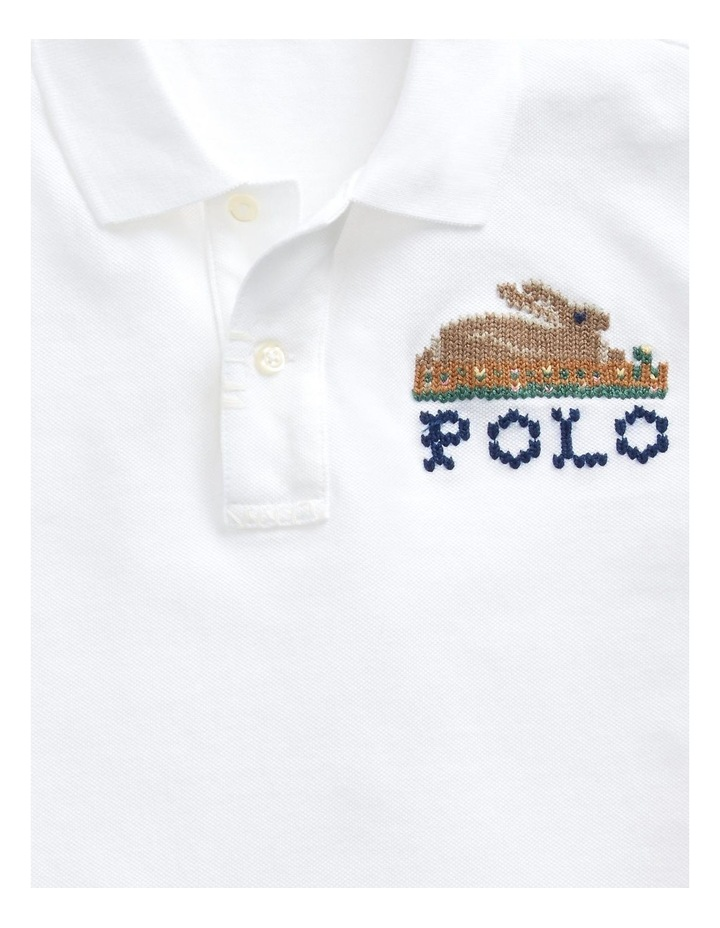 Classic Fit Embroidered Polo image 5