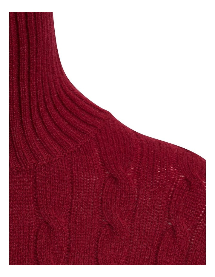 Cable-Knit Turtleneck Sweater image 5