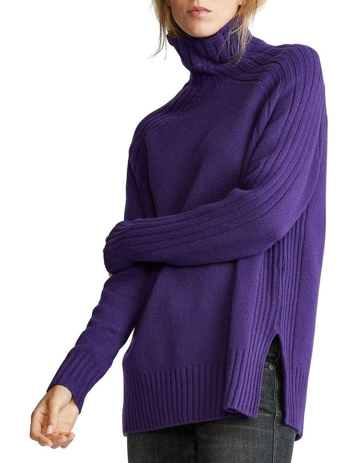 Ribbed Turtleneck Sweater image 1