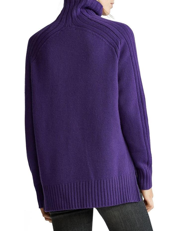 Ribbed Turtleneck Sweater image 2