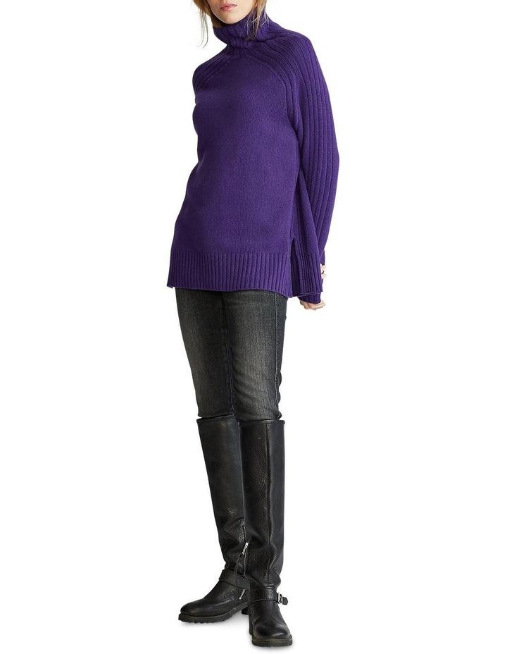 Ribbed Turtleneck Sweater image 3
